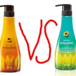 【徹底比較】ひまわりシャンプーリッチ(オレンジ)VSボリューム(青)違いを元美容師が全力で教えます。